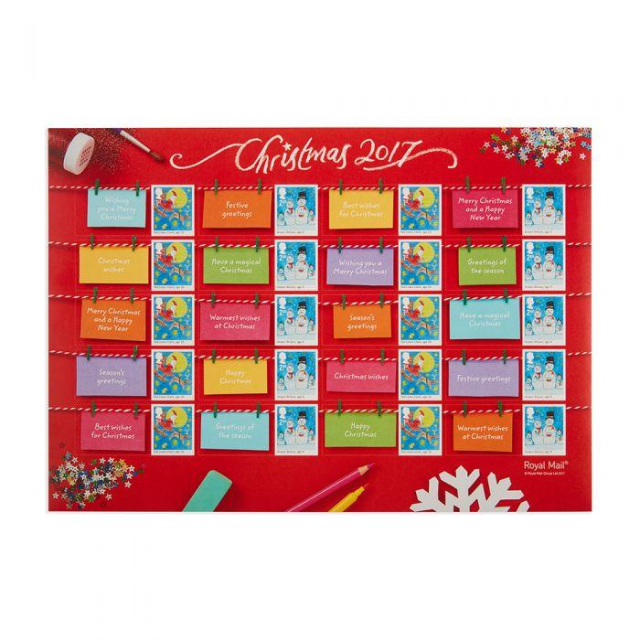 Christmas 2017 childrens design generic sheet royal mail royal mail christmas 2017 childrens design generic sheet m4hsunfo