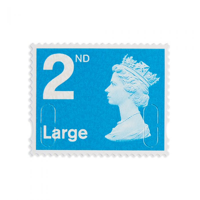 Royal Mail 4 X 2nd Class Large Stamp Book