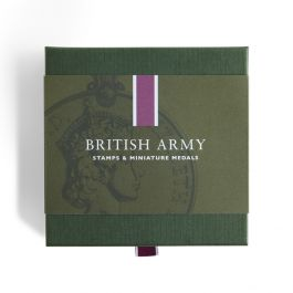 British Army Stamps Amp Miniature Medal Set Royal Mail