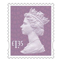 Definitives 2019 Machin Definitive Mint Stamp Orchid