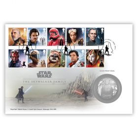 STAR WARS™ Skywalker Family Silver Medal Cover