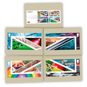 United Kingdom: A Celebration Postcards