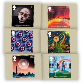 Classic Science Fiction Postcards