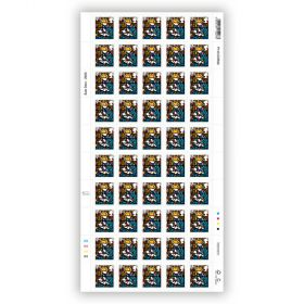 Christmas 2020 Full sheet of 50 x £1.45 Stamps
