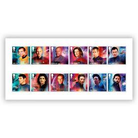 Star Trek Stamp Set