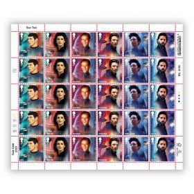 Star Trek Half Sheet 1st Class Stamp x 30 - Spock