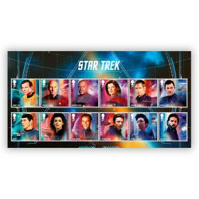 Star Trek Character Stamp Set