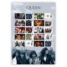 Queen Album Cover Collector's Sheet