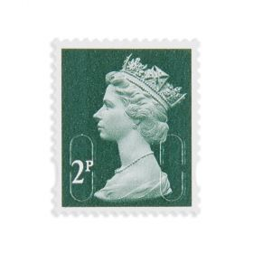 Royal Mail 2P x 25 Self Adh Stamps