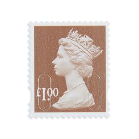 Royal Mail 25 x 1 Stamp Sheet