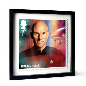 Star Trek Framed Enlarged Print - Picard
