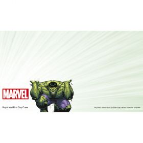 Royal Mail MARVEL First Day Envelope Hulk