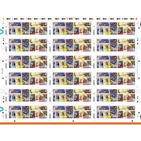 MARVEL Press Sheet