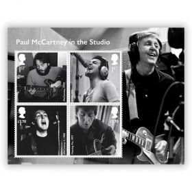 Paul McCartney Miniature Sheet