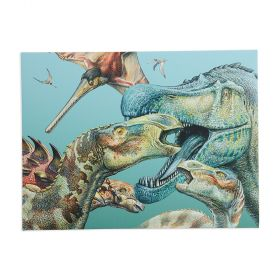 N3055 Royal Mail Canvas Dinosaurs