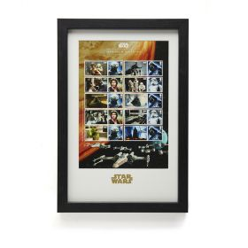 N3078 Royal Mail Star Wars 2015 Framed Collector Sheet