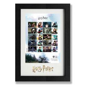 N3154 Harry Potter Framed Collector Sheet
