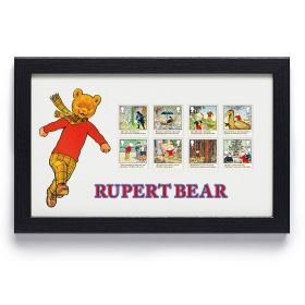 Rupert Bear Framed Stamp Set