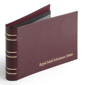 Royal Mail Miniature Sheet Album