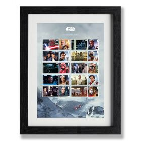 STAR WARS™ 2019 Framed Collector Sheet