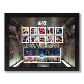 STAR WARS™ 2019 Framed Stamps & Miniature Sheet