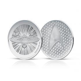 Star Trek Silver Medal - Stamps