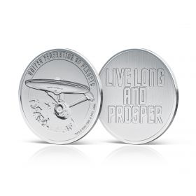 Star Trek Silver Medal - Movies Stamp Sheet
