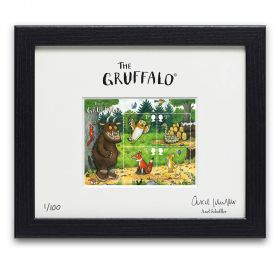 The Gruffalo Limited Edition Framed Miniature Sheet (signed by Axel Scheffler)