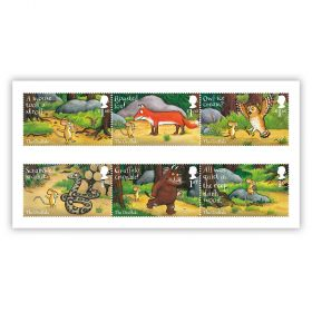 The Gruffalo set of six special stamps