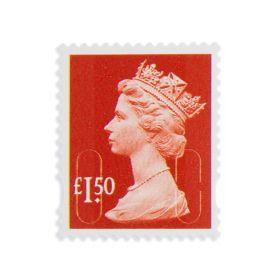 Royal Mail 50 X 1.50 Stamp Sheet
