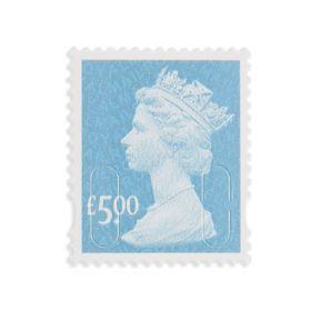 Royal Mail 50 x 5.00 Self Adhesive Stamp Sheet