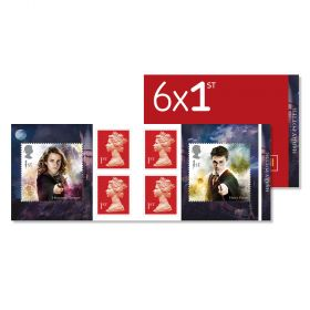 UB418 Harry Potter Retail Stamp Book