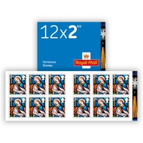 Christmas 2020 2nd Class Stamp Book