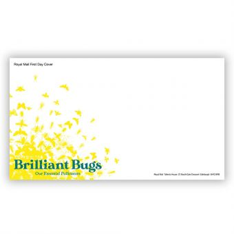 Brilliant Bugs First Day Envelope
