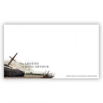 The Legend of King Arthur First Day Envelope