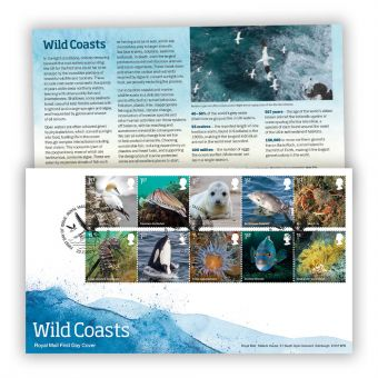 Wild Coast First Day Cover with Tallents House Postmark