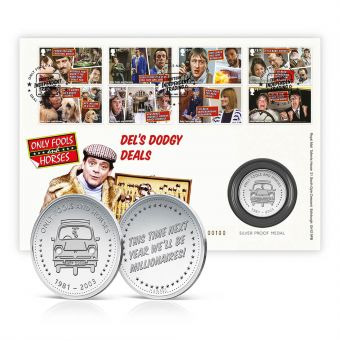 Only Fools and Horses Silver Medal Cover