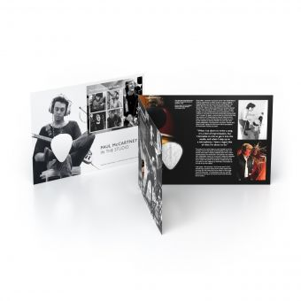 Paul McCartney In The Studio Medal Cover