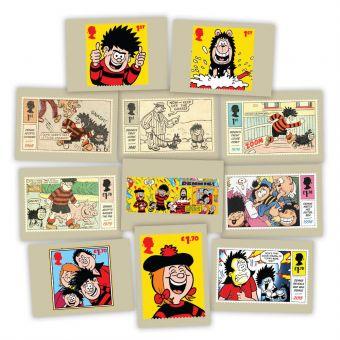 Dennis & Gnasher Postcards