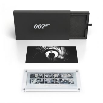 James Bond Limited Edition Silver Stamps