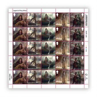The Legend of King Arthur Half Sheet 1st Class x 25