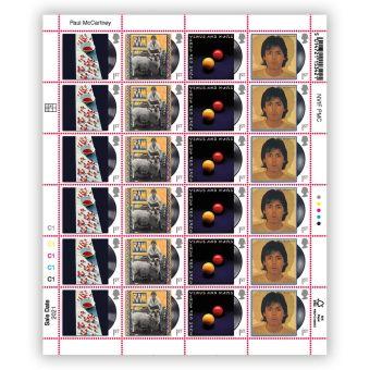 Paul McCartney Half Sheet - 1st Class