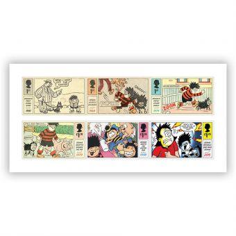 Dennis & Gnasher Stamp Set