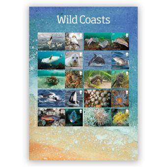 Wild Coasts Collector's Sheet