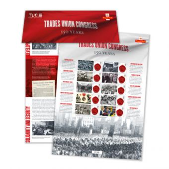 Commemorative Sheet: 150th Anniversary of the TUC