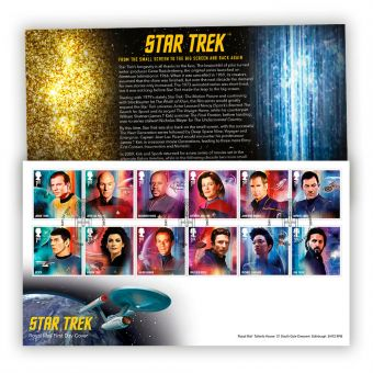 Star Trek Stamp Souvenir
