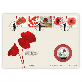 Centenary of Remembrance Silver Coin Cover