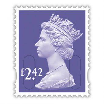 2020 Definitives - Machin Definitive Mint Stamp £2.42
