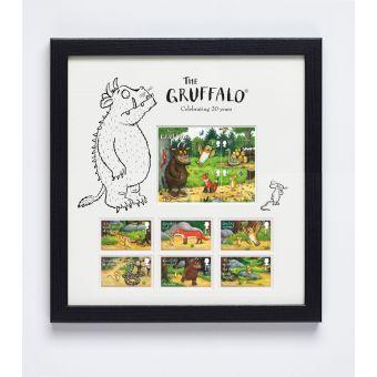 The Gruffalo Framed Stamps & Miniature Sheet