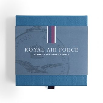 Royal Mail Royal Air Force Stamps and Miniature Medal